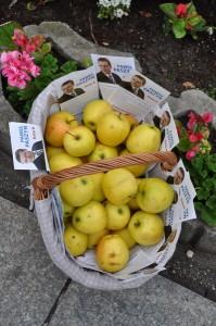 niech polskie jabłka będą symbolem zgody i miłości Polaków