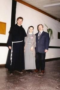 Z ówczesnymi moimi przyjaciółmi, z prawej Jarosław Olszewski
