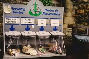śmietniki w Kanadzie 20 lat temu