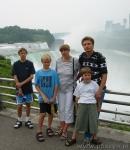 Z rodzinką nad Niagarą