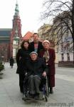 Z moimi rodzicami, cierpiącym tatą