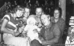 Moja rodzinka, ja z rodzicami i rodzeństwem, 1976